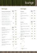 Lounge bar Menu - Novotel London West - Page 5