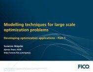 Application design - FICO