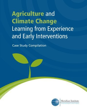 Agriculture and Climate Change Learning from ... - CDKN Global