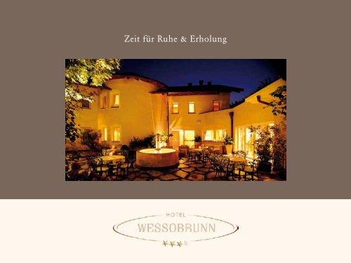 Prospekt download - Hotel Wessobrunn