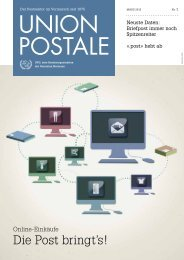 Die Post bringt's! - UPU - Universal Postal Union