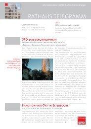 Fraktion vor Ort in Eltersdorf - SPD-Fraktion im Erlanger Stadtrat