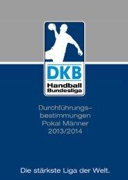 Durchführungsbestimmungen Pokal Männer 2013/2014 - 1 -