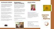 Aktuelle IPB Informationsbroschüre - Institut für Integrative ...