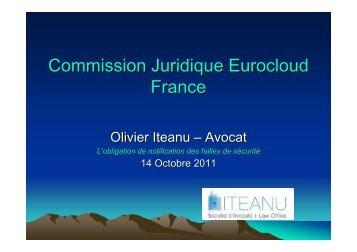 Télécharger un résumé de la présentation - EuroCloud France