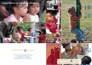 60 years of the Bernard van Leer Foundation