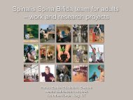 work and research projects - RBU