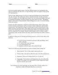 Reading Comprehension- Botany - LessonSnips