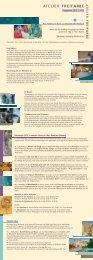 Unser aktueller Flyer als Pdf-Download - Atelier Freifarbe