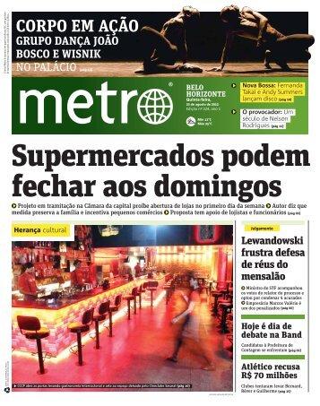 CORPO EM AÇÃO - Metro