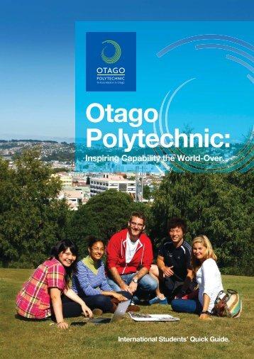Otago Polytechnic - Education Dunedin