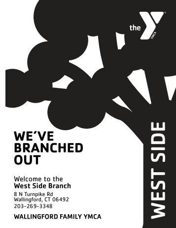 West Side Branch Program Guide - Wallingford Family YMCA