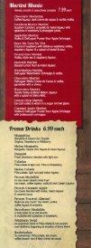 Drink Menu - Box Seats Restaurant - Page 2