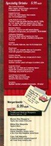 Drink Menu - Box Seats Restaurant - Page 3