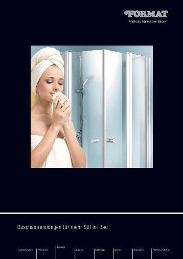 FORMAT Duschen