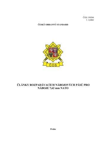 130504 - Odbor obranné standardizace