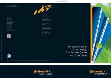 Das Format Center von Contitech. - Conti-Air