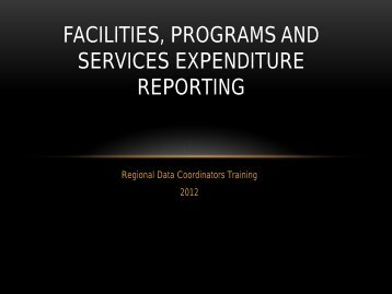 FPS Expenditure Reporting - Texas Juvenile Justice Department ...