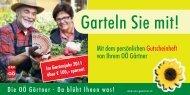 Im Gartenjahr 2011 über € 100,- sparen! - Blumen Eder