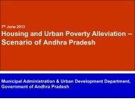 Presentation by Andhra Pradesh State - Ministry of Housing & Urban ...
