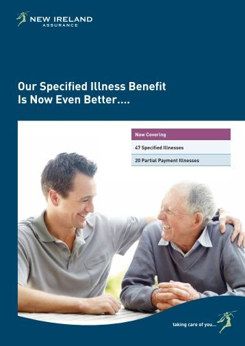 Specified Illness Benefit Brochure - New Ireland Assurance