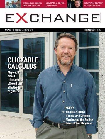 CLICKABLE CALCULUS - Exchange Magazine