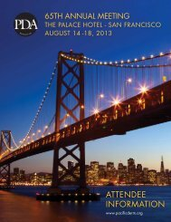 ATTENDEE INFORMATION - Pacific Dermatologic Association