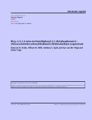electronic reprint - Department of Crystal and Structural Chemistry