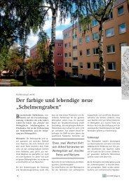 """Der farbige und lebendige neue """"Schelmengraben"""""""