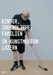 Flyer 2012 - Kunstmuseum Luzern
