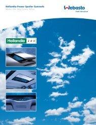 Hollandia 300 Brochure - Webasto
