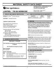 371547-Lontrel 750 SG Herbicide - Aus MSDS March 12 - Agsure