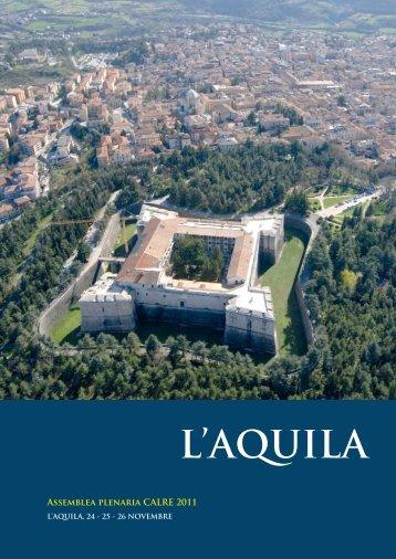 MU6 - N. 21 | Allegato Speciale CALRE, L'AQUILA