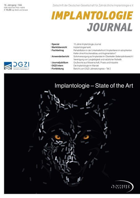 Implantologie – State of the Art