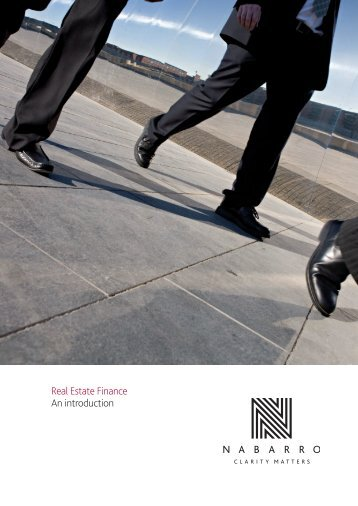 Real Estate Finance An introduction - Nabarro