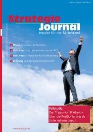 Artikel von Prof. Mewes im Strategie Journal 3 - mepi.