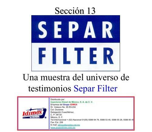 seccion 13 Separ Filter.pdf - Grupo IDIMEX
