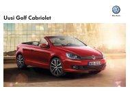 Uusi Golf Cabriolet - Volkswagen