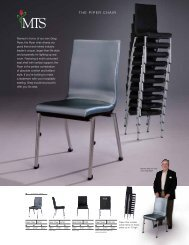 THE PIPER CHAIR - MTS Seating