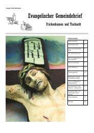 Konfirmation 2011 - Evangelische Kirchengemeinde Frickenhausen