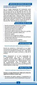 BENEFICIOS - Credomatic - Page 5