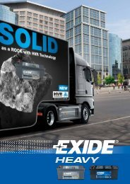 Leaflet Exide Heavy - EVO