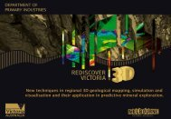 New techniques in regional 3D geological mapping, simulation and ...