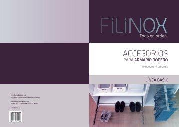 Catálogo Línea Basik - Filinox