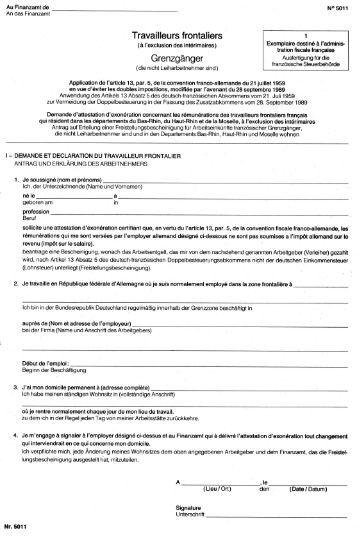 Formular 5011