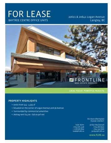 Download Brochure - Frontline Real Estate