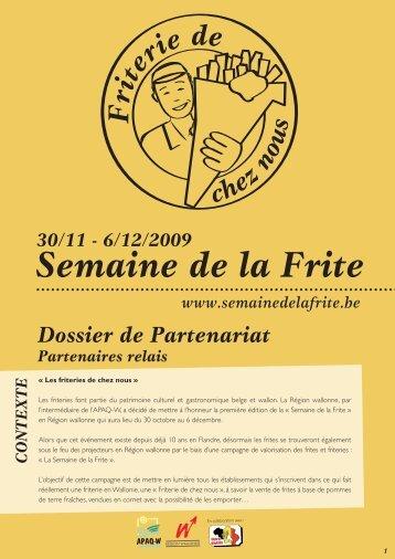 Semaine de la Frite - Fédération Horeca Wallonie