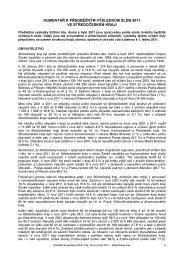 komentář k předběžným výsledkům sldb 2011 ve středočeském kraji
