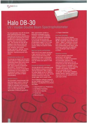 Halo DB-SO - Teo-Pal Oy