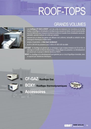 GRANDS VOLUMES - EMAT